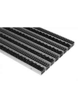 Грязезащитное покрытие  со вставкой «ворс + кассетная щетка» (RCB)